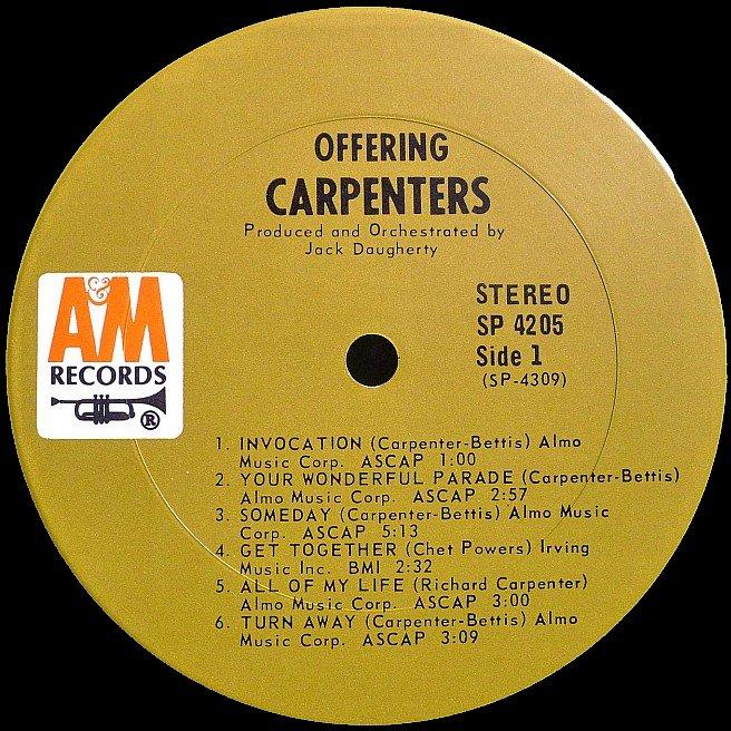 Cvinyl Com Label Variations A Amp M Records