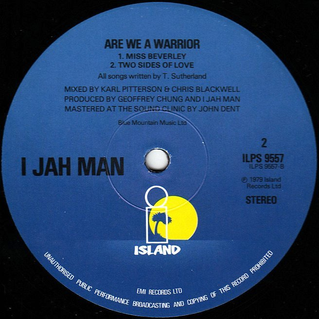 CVINYL.COM - Label Variations: Island Records