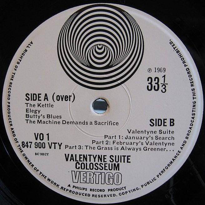 Cvinyl Com Label Variations Vertigo Records